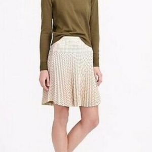 New no tags J.Crew pleaded skirt in size 4